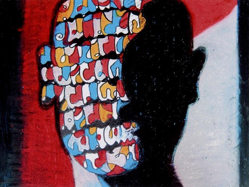 「林哲文現代畫創作展」,享受藝術美化心靈的愉悅