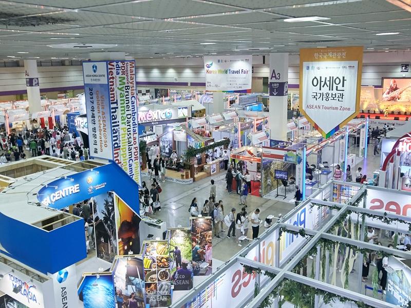 KOTFA韓國當地最大規模的旅遊博覽會