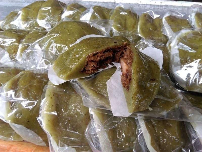 皮薄餡多的「草仔粿」,意猶未盡的美味