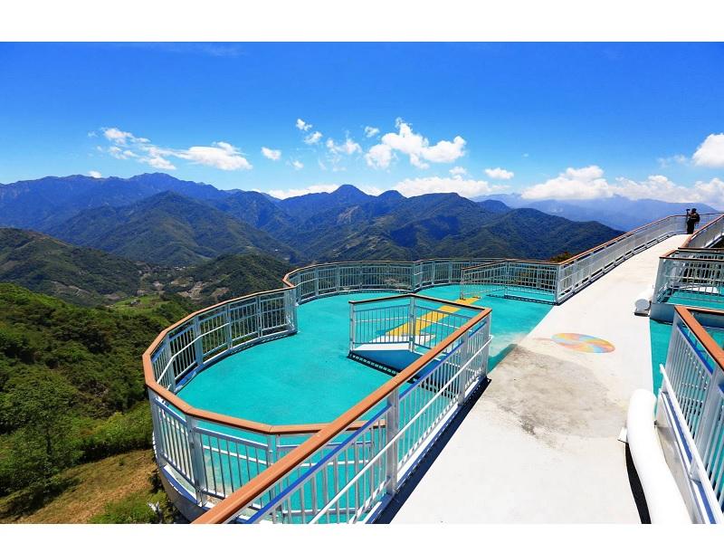 「全台海拔最高-清境高空觀景步道」開放網路預約購買入門票囉!