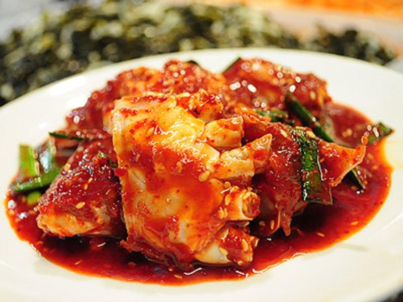 少見的美味-韓國醬螃蟹