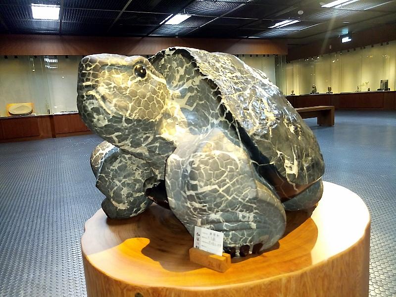 境鄭階和石雕作品展在新竹縣