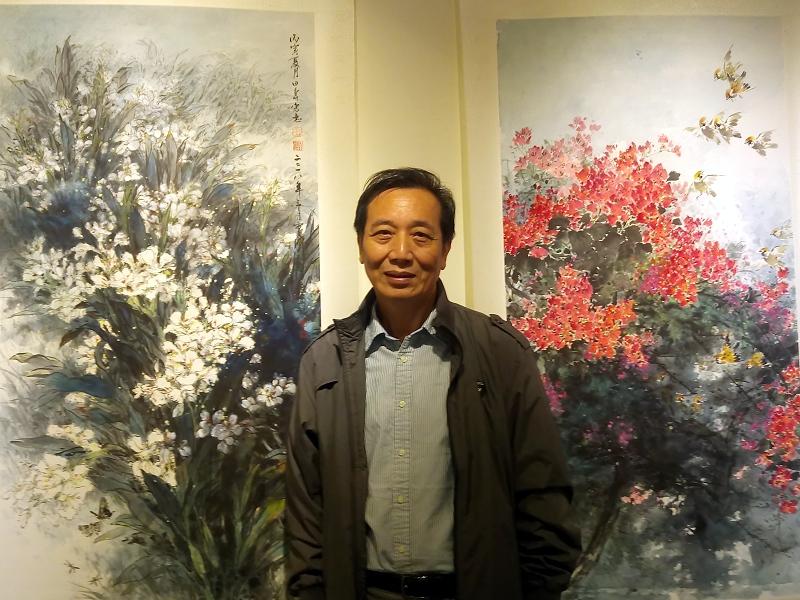 林田壽薪傳展在新竹市文化局梅苑展出