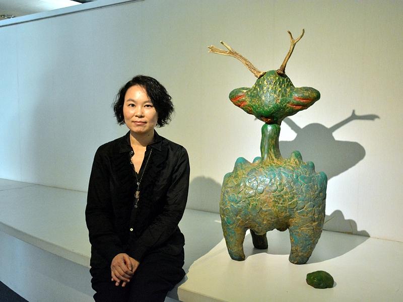 夏愛華創作個展在中華大學藝文中心