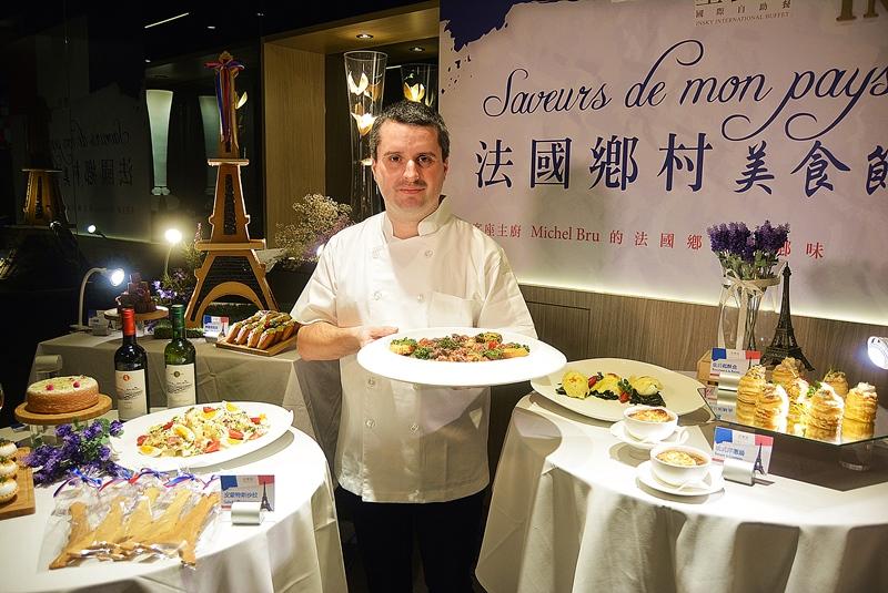 法國鄉村美食節星饗道客座主廚把法國家鄉味原汁原味搬來台中了