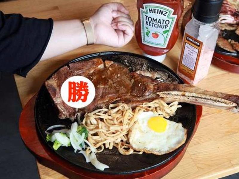 鐵板牛排肉肉升級每樣排餐真的都超霸氣