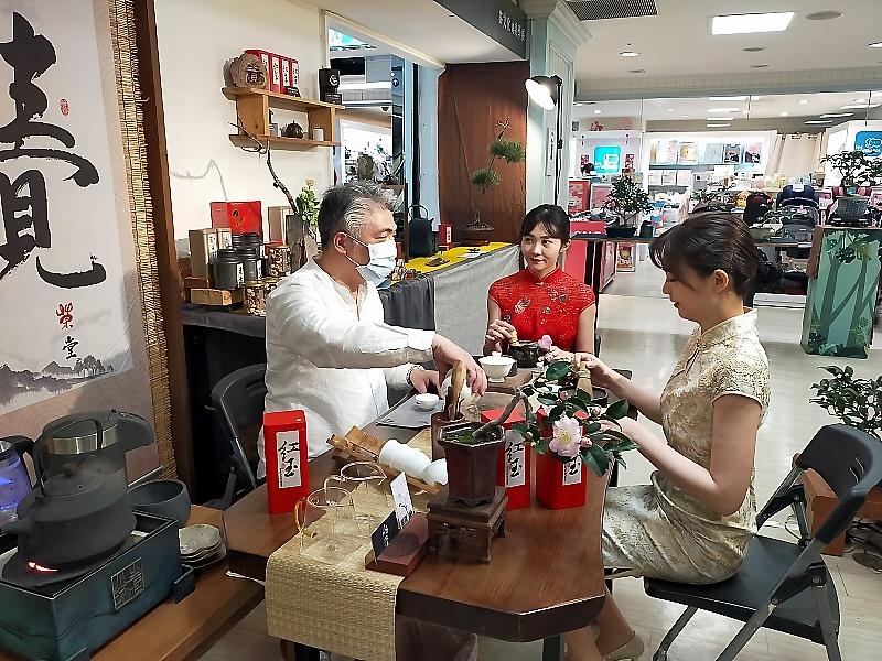 茶文化與美學展在百貨公司展出
